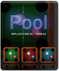 Pool replcae icons for iphone by iTouchPhone-Group