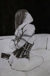 Master Shibari drawing Art 2 by corset10