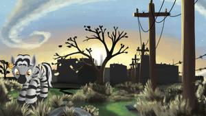 Ghost City by FantDragon