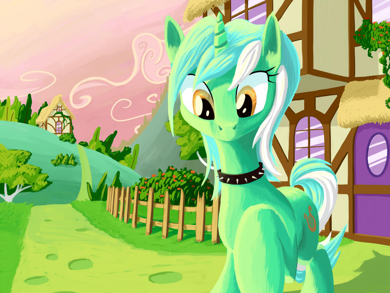 Lyra go to walk by FantDragon