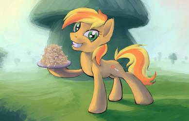 Mushroom pony by FantDragon