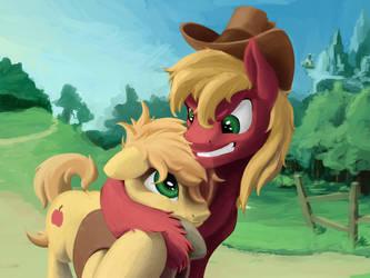 Frendly Hugs by FantDragon
