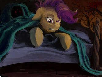 Not there by FantDragon