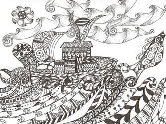 The Calm Seas by RubyeyesKraftwerks
