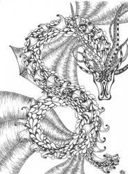 Sky Dragon by RubyeyesKraftwerks