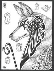 Anubis by RubyeyesKraftwerks