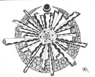 Crown Chakra by RubyeyesKraftwerks