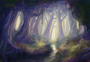 Fairytale Forest by dreamin-Lea