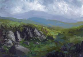 landscape by dreamin-Lea