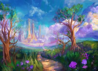 Castle by dreamin-Lea