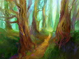 Pathway by dreamin-Lea