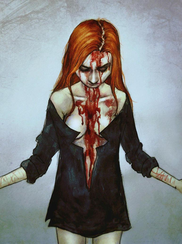 Bleeding soul by MademoiselleNoName