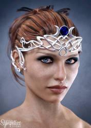Goddess | 3D Promo by Leshiye-Art