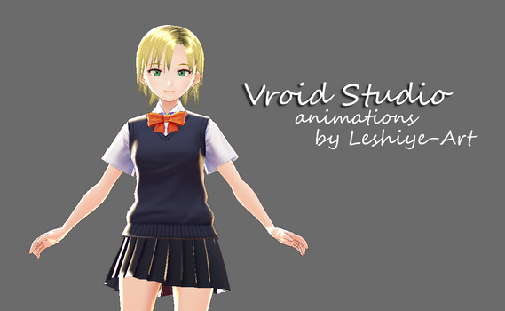 Demo VRoidStudio Animation August 2018 by Leshiye-Art