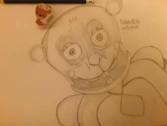 Guinea Pig Animatronic by 5NightsAtLili