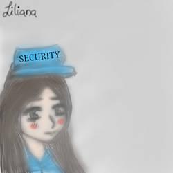 Liliana (5NightsAtLili) Nightguard by 5NightsAtLili
