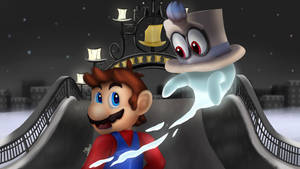 Super Mario Odyssey - Meeting Cappy by DarkyBenji