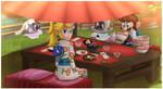Super Mario Odyssey - Eating Together by DarkyBenji