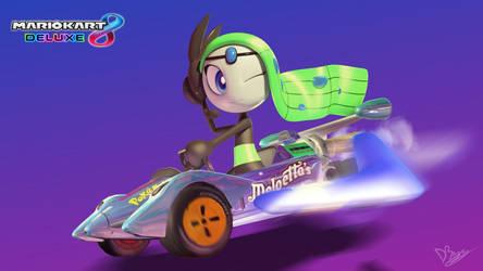Mario Kart 8 Deluxe - Meloetta by DarkyBenji