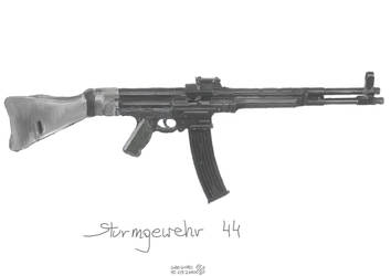 StG 44 by immortal1500