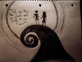 Jack And Sally by LivingDeadGiirl