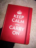 Keep Calm And Carry On by LivingDeadGiirl