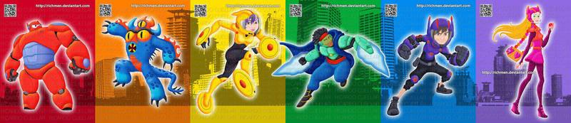 Big Hero 6 Disney Marvel by Richmen
