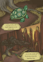 The Turtle and The Tigress | page 3 by greysycamore