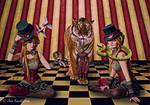 Quaint Freestyle circus by Kwekkie1982