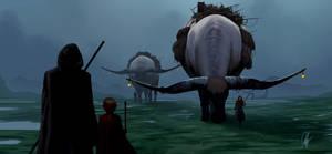 Swamp nomads by ienkub