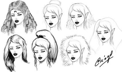 hair Hair HAIR HAIIIIIIIR !!! by TheArcngel