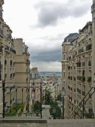 Montmartre  neibourhood by Orcas-lover