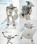 Bionicle: Toa Kopaka by Transypoo