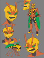 Transformers Wasps: Buzzsaw by Transypoo