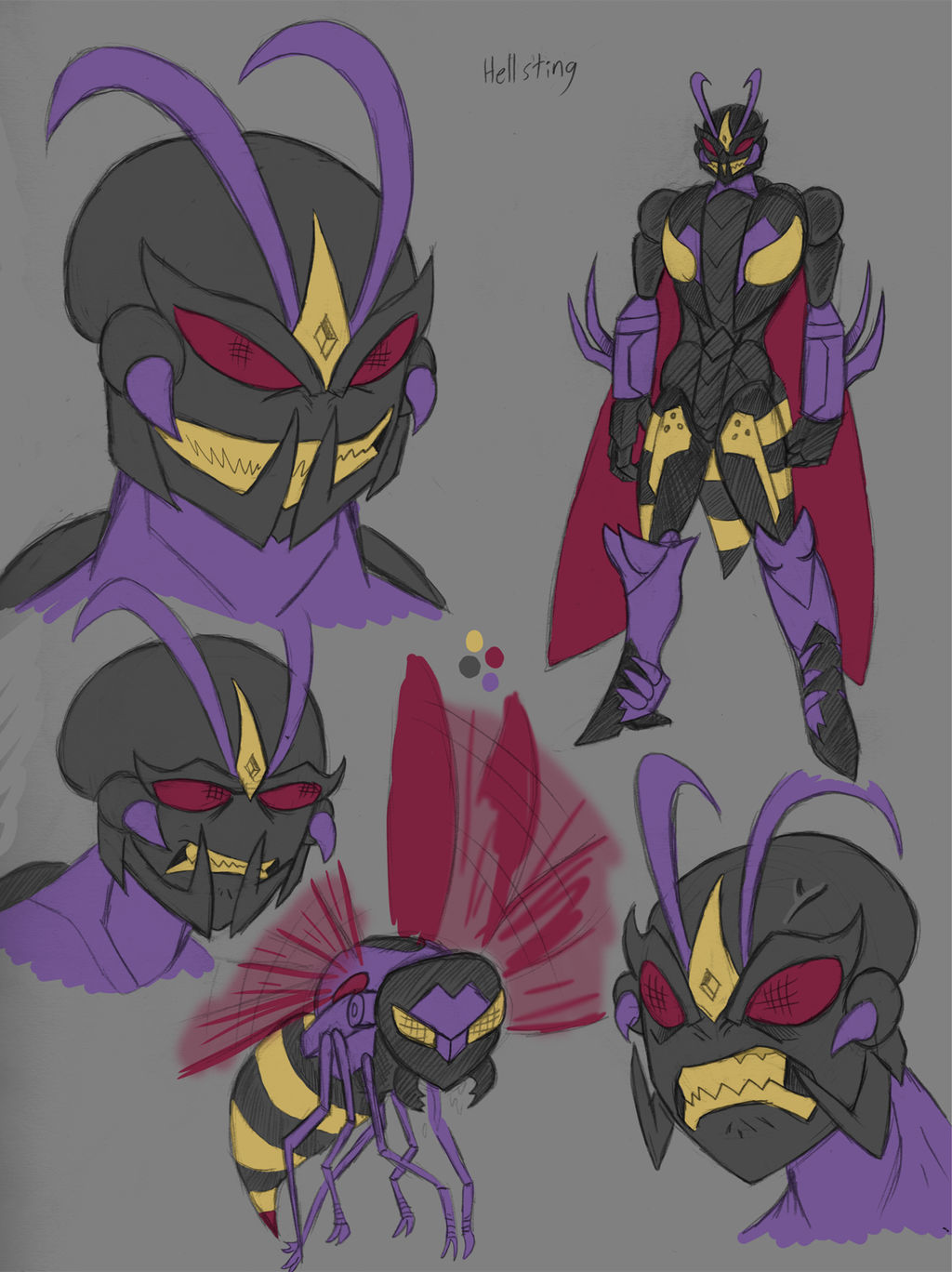 Transformers Wasps: Hellsting by Transypoo