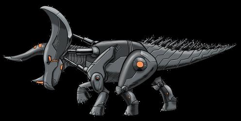 Robosaurs: Tricerabot by Transypoo