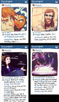 star wars instagram AU by shorelle