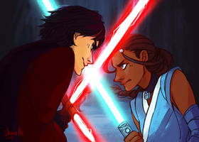 zuko + katara - star wars AU by shorelle