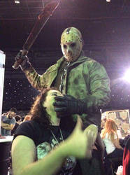 Jason Voorhees at HorrorCon UK 2016 by Smart-FX