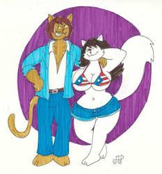 Leandra and Carlos by EmperorNortonII by wyanewill