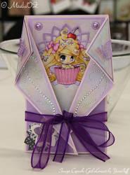 Cupcake Girl [by Yampuff] Card by MzaliaOZ