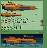Space ships #1 by jebo14