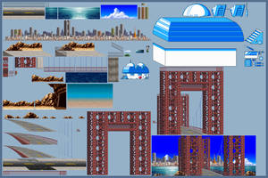 Old City Backgrounds 2# by jebo14