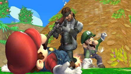 Can Luigi save his Brother? by SmashBros2008