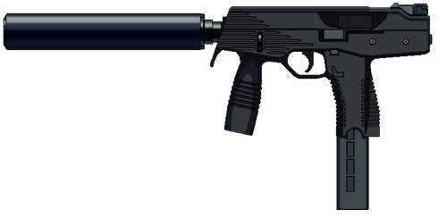Schmidt Machine Pistol by Ruiner3000