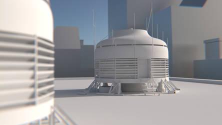 Mirror's Edge - Merc's Lair Final Concept by MichaelTzan
