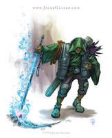 Shamanic Swordsman by illgnosis