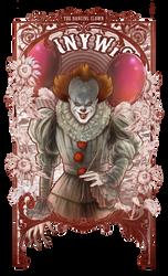 The Dancing Clown by IriusAbellatrix