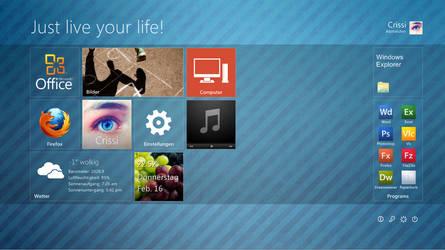 Windows 8 Verschnitt by CrissiK