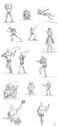Poses by Sheppard56
